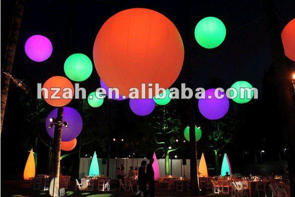 Colorful LED Inflatable Balloon