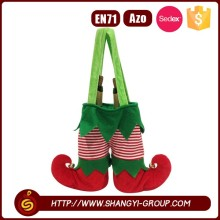 Wholesale christmas supplies 2 Bottle felt Wine Tote Bag