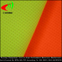 hi vis polyester cotton high reflective fabric roll fluorescent fabric