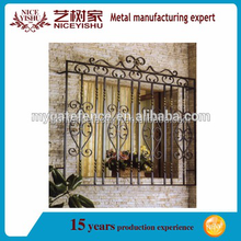 New type steel window /metal product factory iron window grill design for sale