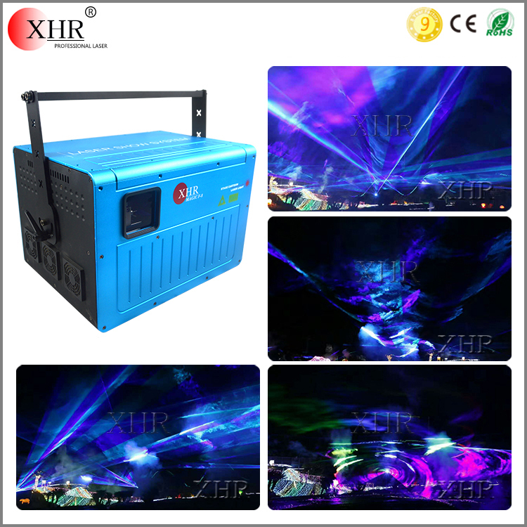 ILDA Animation Laser 20W Full Color Software Control Laser DJ Sound/Event Lighting Systems