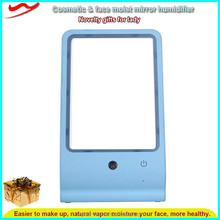 Best moisturizing USB LED Cosmetic mirror classic ultrasonic humidifier