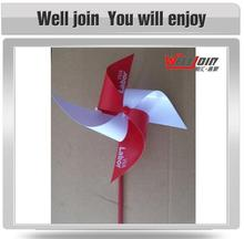 factory hot sell PVC portable windmill toys