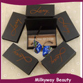 Customized styles and package box mink fur false eyelash magnet box mink lashes