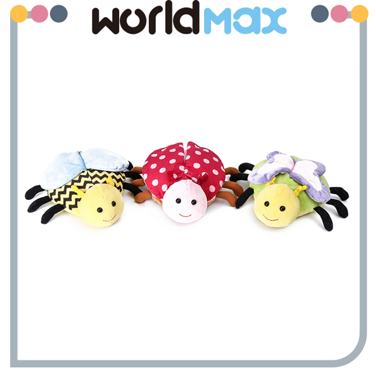 China Made Graceful Lying Spider Promotional Baby Plush Toy spider