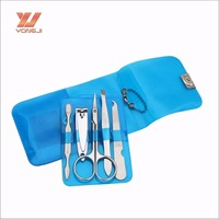 CC052 Transparent Pvc Bag Packing Beauty Manicure Set For Women Gift