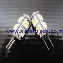 G4 1.8W 6500K 5050 SMD 9LED jc g4 halogen lamp 6v 5w