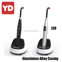 OEM Offered Lithium Battery Pure LED Blue Light and no Flicker Dental composite curing light machine