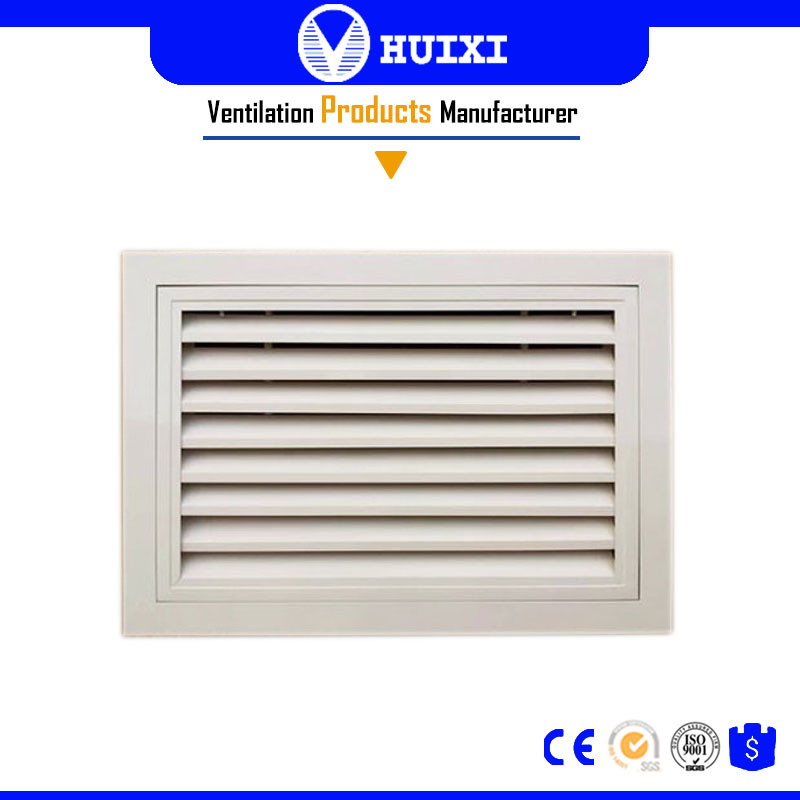 Door Link Deflection Exhasut Air Grilles with Net