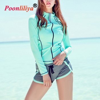 Cute High Top Long Swimming Costume Pretty Women In Bathing Suits