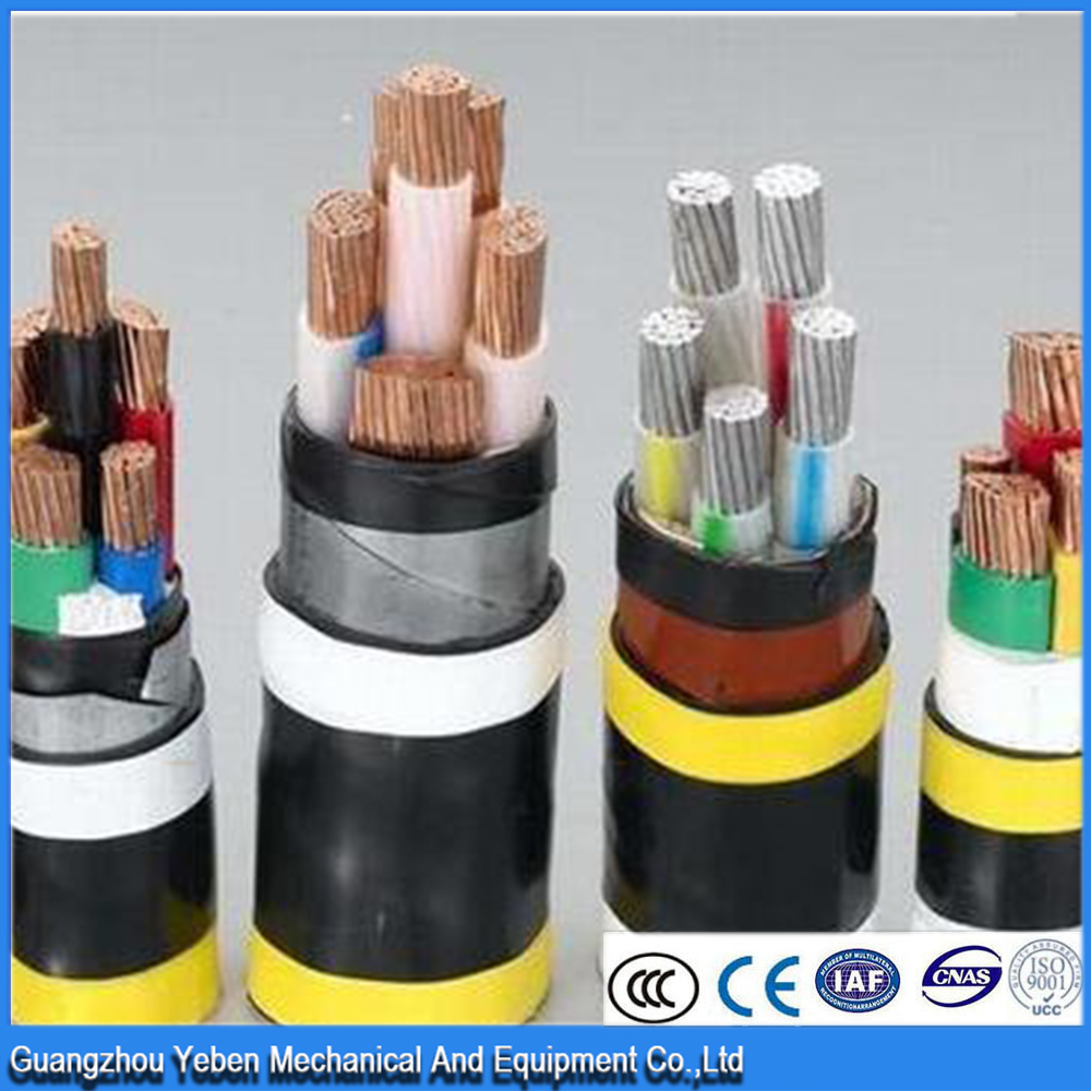 Best choice 0.6/1kv insulated 3 core 4 core 4x25 cable xlpe armoured cable swa copper marine cable low voltage