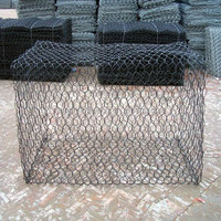 heavy galvanized gabion boxes / gabion basket sizes / zinc coated gabion box wire mesh