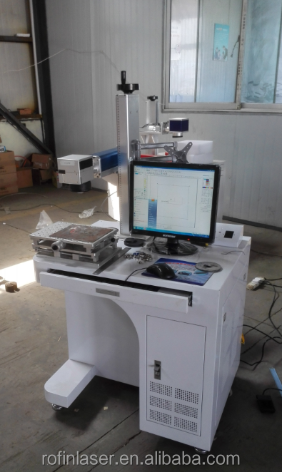 Fiber Laser Marking Vin Identification Machine for sale