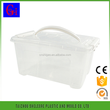 Custom printed hot selling colorful 5L plastic food container