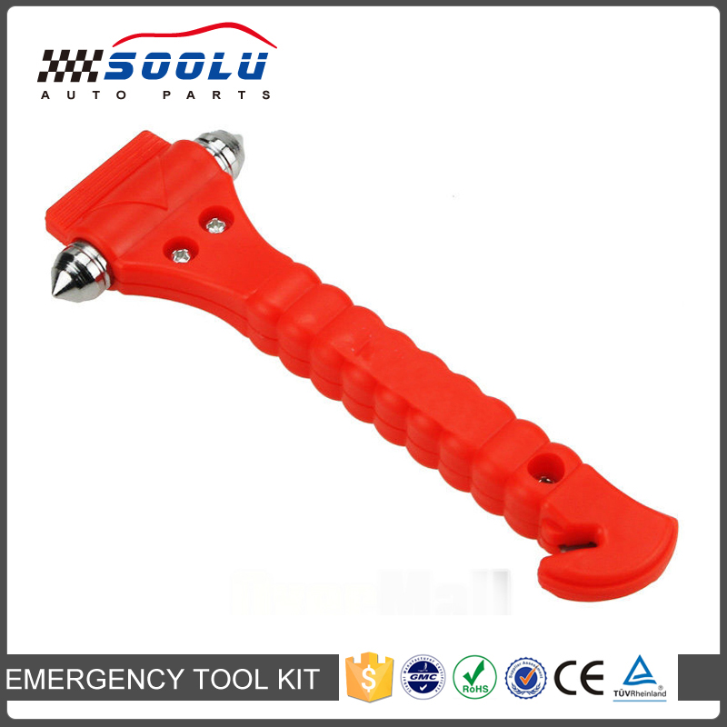 Emergency 2 in 1 Car Safety Glass Breaker with Seatbelt Cutter