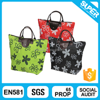 OEM polyester folding shopping bag for promotion