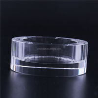 New product good quality crystal golf ball tealight holder for sale