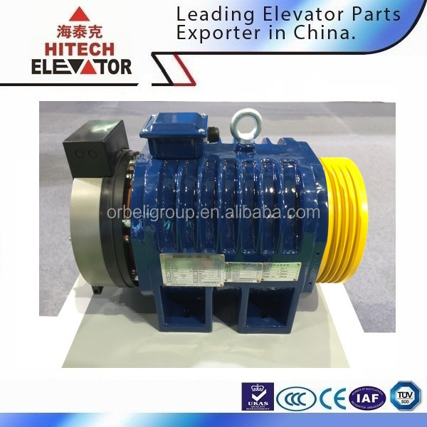 Gearless Traction Machine/used for small villa lift/MONA200A