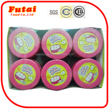 15g European chewing gum with strawberry flavor powder