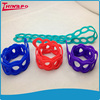 New style eco-friendly strong elastic soft stretch colour shape silicone rubber tension band