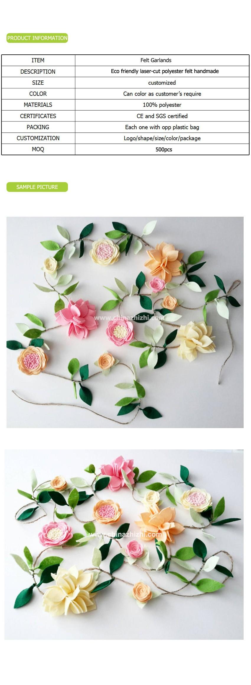 New Design Customized Handmade Cheap Decorative Artificial Flower