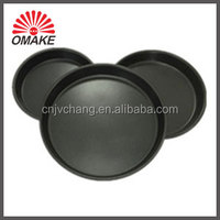 aluminum pie pan round shape pizza baking pans with non-stick layer