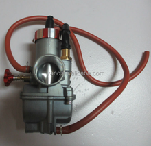 High performance red NSR scooter carburetor for 125cc - 150cc engine