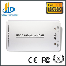 DHL Free Shipping 2016 Newest HDMI to USB3.0 Video Capture Dongle Free Av Videos Capture Card