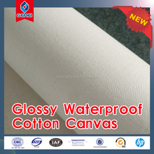 100% polyester wide format eco-solvent inkjet canvas roll 240g 260g 280g