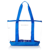 Clear PVC Beach Bag with zipper close