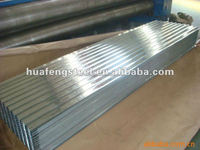 hot sale galvanized corrugated steel roofing/gi corrugated steel sheet(factory)