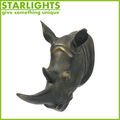 hot sale Wall mounted artificial ox head abstract home decor