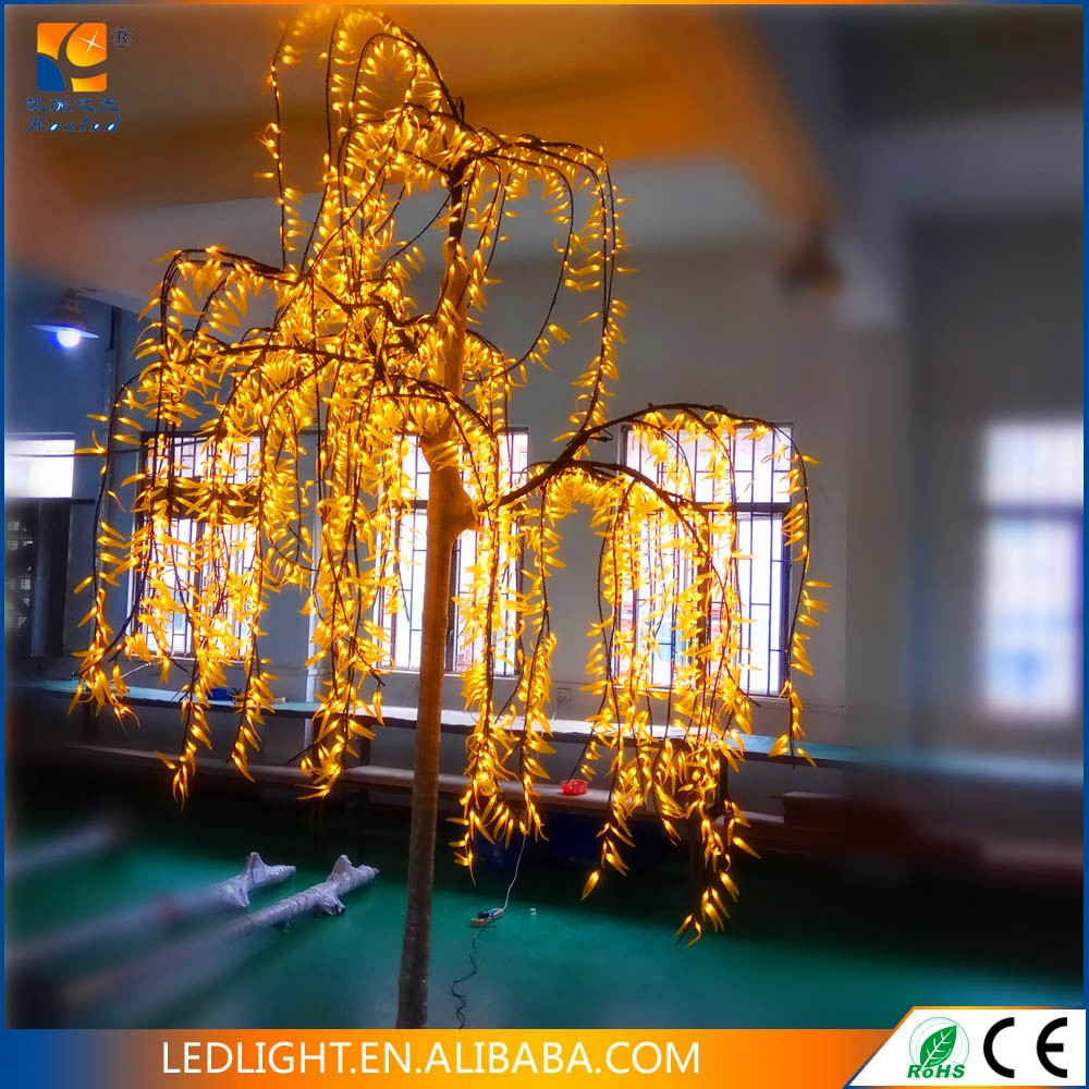 Green Garden Decorative Led Cherry Blossom Tree Light