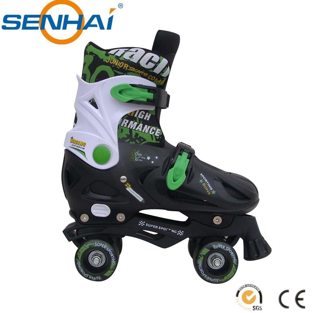 Hot Sale Quad Roller Skates Spoting Goods Flashing Roller Shoes PP Materials PU Skate Wheels