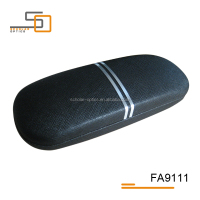 cheap hot new eyewear case optical glasses spectacles leather case for women