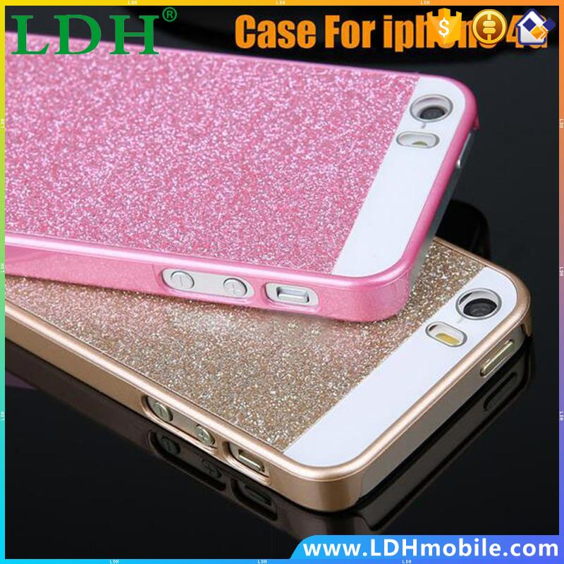 Free New Fashion Simple mobile phone cases PC Material Case Cover shell For Iphone 4 4S 4G Hard case covers SJ010701