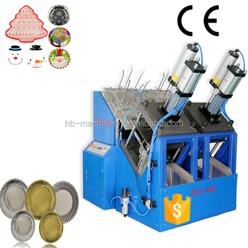 hot sale !automatic disposable paper plate making machine, PE coated paper fast speed