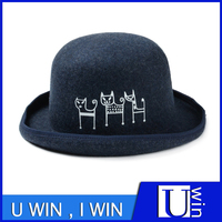 Cute Style Wool Hat Quality Hand Making Hat For Men