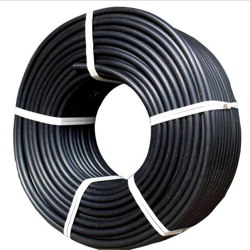 Drip Irrigation HDPE pipe roll of black plastic pipes