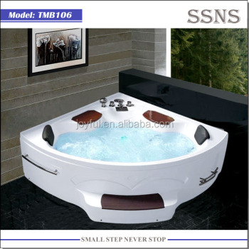 Luxury Design Indoor Acrylic Whirlpool Bathtub Price TMB106
