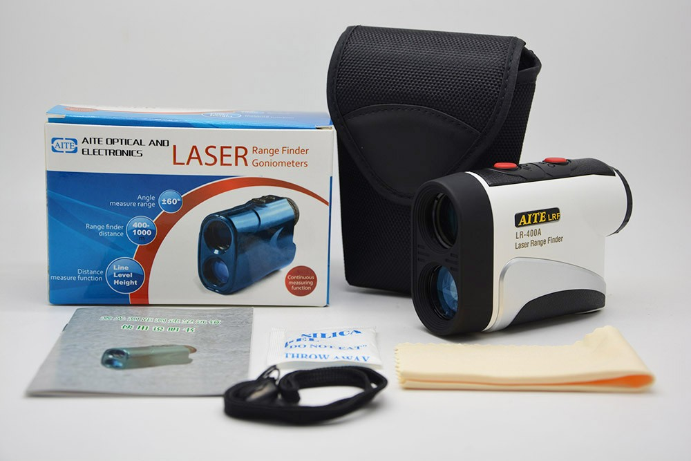 Hand held mini laser distance meter and speed rangefinder monocular for hunting