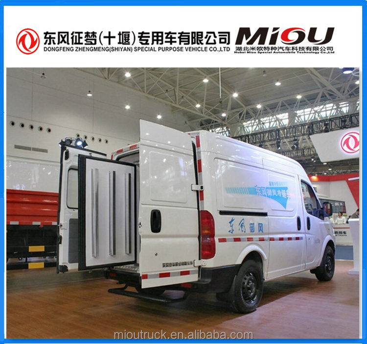 Good Performance 136 hp 4X2 refrigerated cargo van