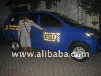 Vehicle Wrapping Car (Branding Mobil)