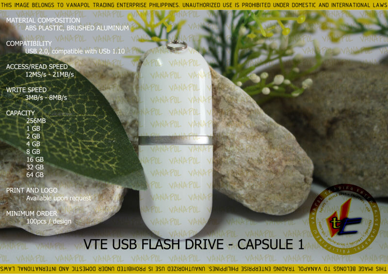 VANAPOL USB FLASH DRIVE CAPSULE 1