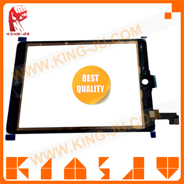Latest accessories for ipad 6 touch screen digitizer wholesale display glass