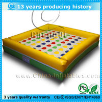 top design inflatable twister game good price for sale
