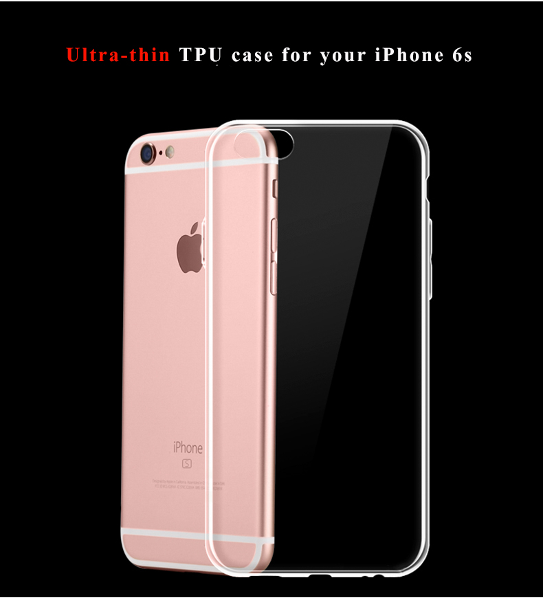 Free sample High quality transparent tpu 0.3mm case for iPhone for Samsung phone case cover