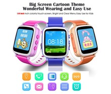 Wireless gps tracking kids smart watch bluetooth watch for children