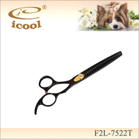 F2L-7522T hot sale pet hair thinning scissors for sale