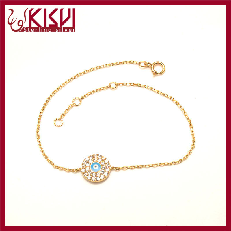 fashionable silver jewelry with high quality bracelet factory